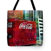 Ice Cold Coca Cola Tote Bag