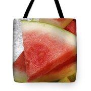 Ice Cold Watermelon Slices 1 Tote Bag