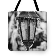 Ice Covered Lantern Tote Bag