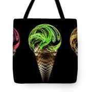 Ice Cream Cones 5 Flavors Tote Bag