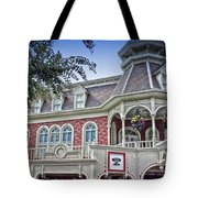 Ice Cream Parlor Main Street Walt Disney World Tote Bag