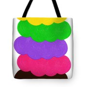 Ice Cream Shop 6 Scoops - Panorama Tote Bag