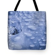 Ice Cube With Copyspace Tote Bag