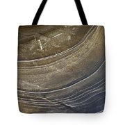 Ice Curve In Neutral Tote Bag