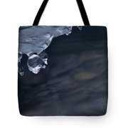 Ice Drop Tote Bag