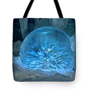 Ice Entrapment Tote Bag