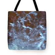 Ice Fire By Jammer Tote Bag