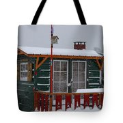 Ice Fishing Derby 10 Tote Bag