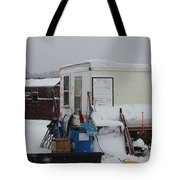 Ice Fishing Derby 6 Tote Bag