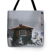 Ice Fishing Derby 7 Tote Bag
