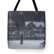 Ice Fishing Derby 9 Tote Bag