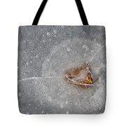 Ice Fishing Hole 10 Tote Bag
