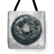 Ice Fishing Hole 12 Tote Bag