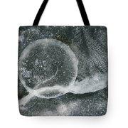 Ice Fishing Hole Tote Bag