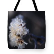 Ice Flowers Tote Bag