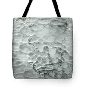 Ice Formations Tote Bag