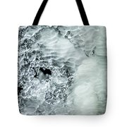 Ice Formations X Tote Bag
