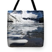 Ice In The Water Tote Bag