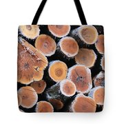Ice Logs Tote Bag