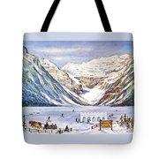 Ice Magic-lake Louise Winter Festival Tote Bag