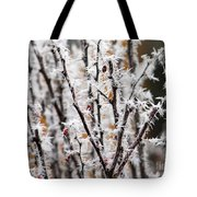 Ice On Thornes Tote Bag
