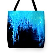 Ice Particles Tote Bag