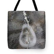 Ice Patterns Tote Bag