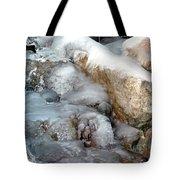 Ice Rock Tote Bag