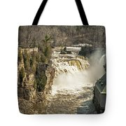 Ice Run Off Tote Bag
