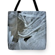 Ice Curves Tote Bag
