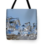 Ice Ships Tote Bag