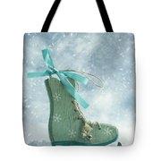 Ice Skate Decoration Tote Bag