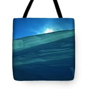 Ice Snow Formation Ischgl In Austria Tote Bag