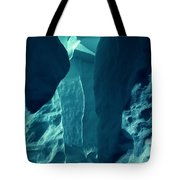 Ice Snow Natural Formation Austria Tote Bag