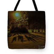 Ice Storm Night Tote Bag
