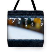 Ice Teeth On Colors Tote Bag