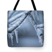 Ice Tree  Tote Bag