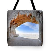 Ice Tunnel Tote Bag