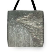 Ice Wing Plastic Tote Bag