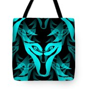 Ice Wolf Tote Bag
