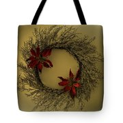 Ice Wreath Tote Bag