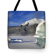 Iceberg And Mount Mcginnis Tote Bag