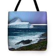 Iceberg Escape Tote Bag by Barbara Griffin