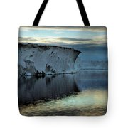 Iceberg In The Ross Sea At Night Tote Bag