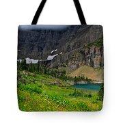 Iceberg Park Tarn Glacier National Park Montana Tote Bag