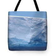 Iceberg With Cape Petrel Tote Bag