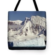 Icebergs Northern Tip Of The Antarctic Tote Bag