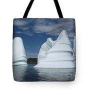 Icebergs Tote Bag