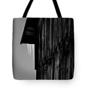 Iced Barn Tote Bag