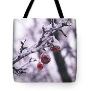 Iced Berries Tote Bag